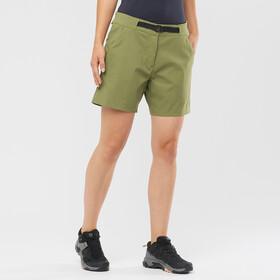 Salomon Outrack Shorts Women, martini olive